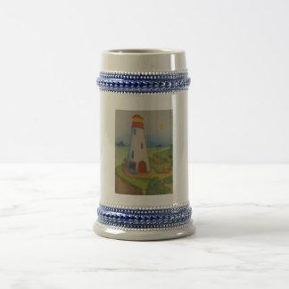 image of a lighthouse coffee mugs