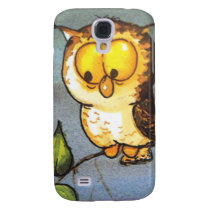image of a owl samsung galaxy s4 cover
