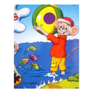 image of a ratinho full color flyer