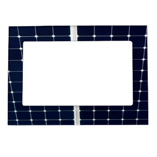 Image of a solar power panel funny magnetic frame
