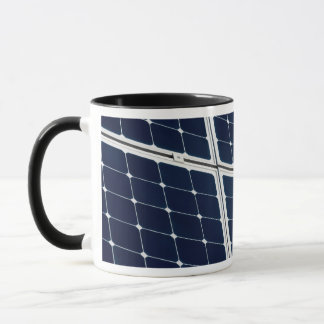 Image of a solar power panel funny mug