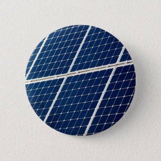 Image of a solar power panel funny pinback button