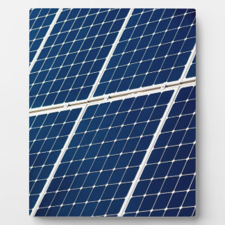 Image of a solar power panel funny plaque