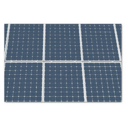 Image of a solar power panel funny tissue paper