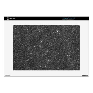 "Image of Black and Grey Glitter Skin For 15"" Laptop"