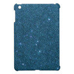 Image of blue trendy glitter cover for the iPad mini