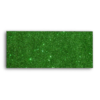 Image of Bright Green Glitter Envelope