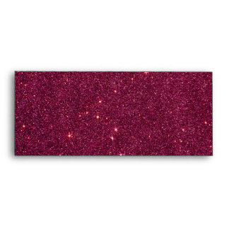 Image of bright pink glitter envelope