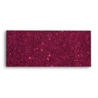 Image of bright pink glitter envelope