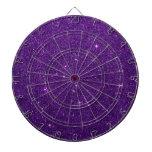 Image of Bright Purple Glitter Dart Boards