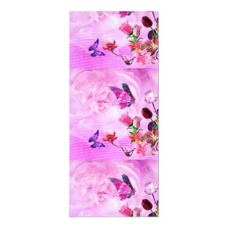 image of butterflies and flowers card