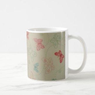 image of butterflies coffee mug