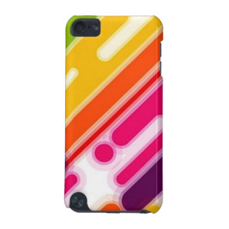 image of colorful scratches iPod touch 5G case