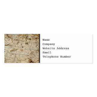 Image of Driftwood. Business Card