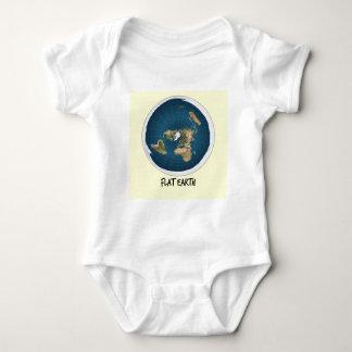 Image Of Flat Earth Baby Bodysuit