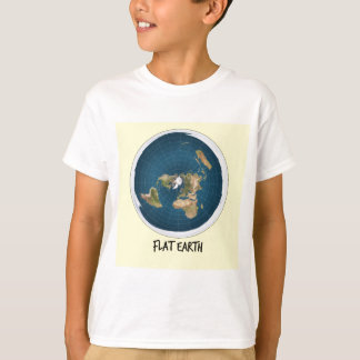 Image Of Flat Earth T-Shirt