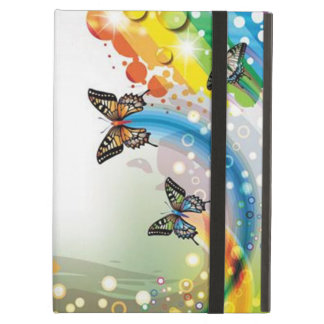 image of flowers and butterflies cover for iPad air