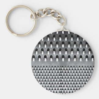 Image of Funny Cheese Grater Basic Round Button Keychain