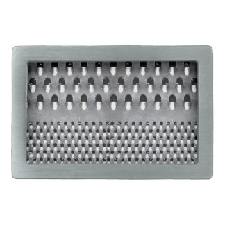 Image of Funny Cheese Grater Rectangular Belt Buckle