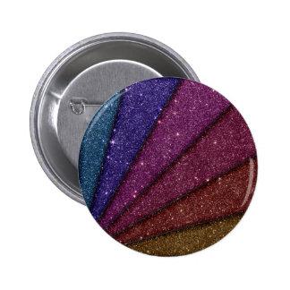 Image of Geometrical Glitter Pinback Button