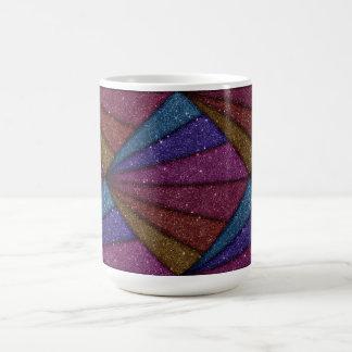 Image of Geometrical Glitter Coffee Mug