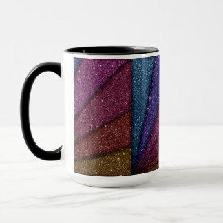 Image of Geometrical Glitter Mug
