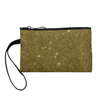 Image of gold Glitter Coin Wallet