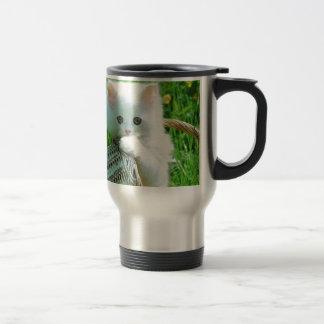 image of good looking 15 oz stainless steel travel mug