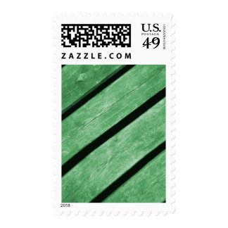 Image of Green Planks of Wood Stamps