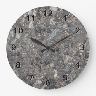 Image of Ground with Stones Wall Clock