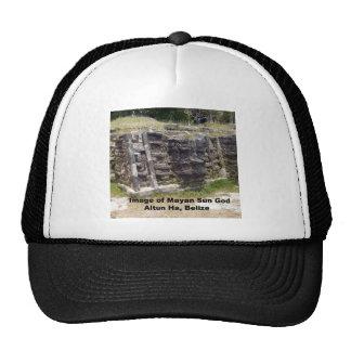 Image of Mayan Sun God, Belize Trucker Hat