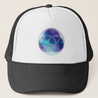 Image of number 3: will triquetra trucker hat