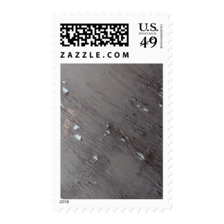 Image of Old Peeling Paint Stamp