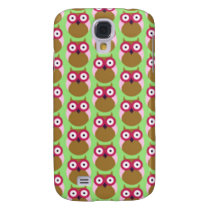image of owls galaxy s4 cover