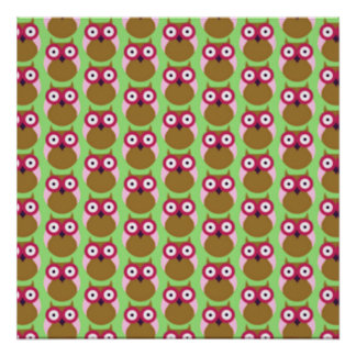 image of owls poster