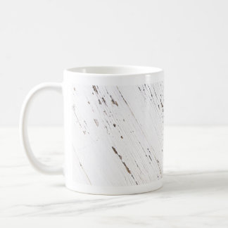 Image of Planks of Wood with Chipped Paint. Coffee Mug