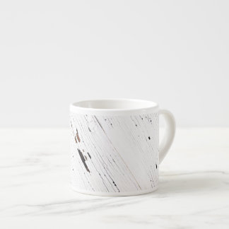 Image of Planks of Wood with Chipped Paint. Espresso Mug