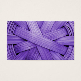 Image of Purple Basket Business Card