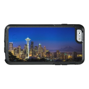 Image Of Seattle Skyline In Morning Hours Otterbox Iphone 6/6s Case by iconicseattle at Zazzle