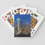 "Image of Seattle Skyline in morning hours. Playing Cards<br><div class=""desc"">Seattle Skyline</div>"