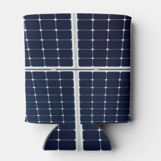 Image of solar power panel funny can cooler