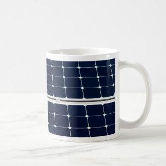 Image of solar power panel funny coffee mug