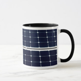Image of solar power panel funny mug
