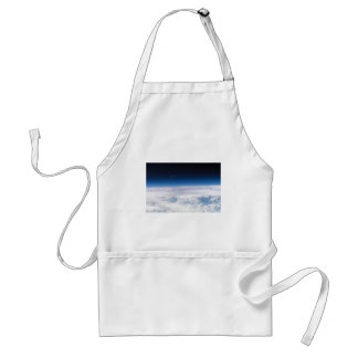 Image of the Exosphere of the Earth's Atmosphere Adult Apron