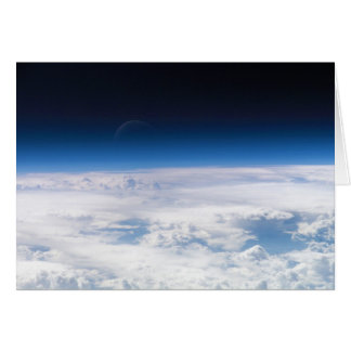 Image of the Exosphere of the Earth's Atmosphere Card