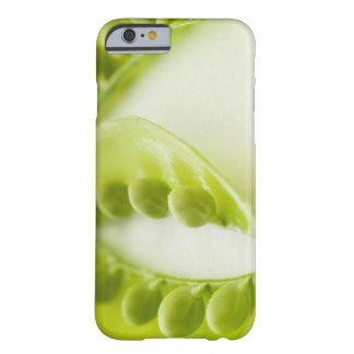Image of three open pea pods, extreme close-up barely there iPhone 6 case