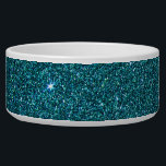 "Image of trendy teal glitter bowl<br><div class=""desc"">image of trendy teal glitter</div>"