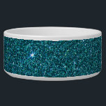 """Image of trendy teal glitter bowl<br><div class=""""desc"""">image of trendy teal glitter</div>"""