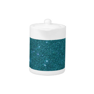 Image of trendy teal glitter