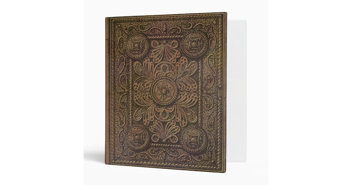 Vintage Book Cover T Shirts : Image of vintage decorative book cover binder zazzle